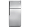 Frigidaire 18 Cu. Ft. Stainless Steel Top Freezer Refrigerator