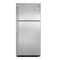 Frigidaire 21 Cu.Ft. Stainless Steel Top Freezer Mount Refrigerator