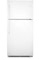 Frigidaire 20.5 Cu. Ft. White Top Freezer Refrigerator
