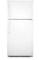 Frigidaire 20.5 Cu. Ft. White Top Freezer Refrigerator