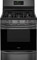 "Frigidaire Gallery 30"" Black Stainless Steel Freestanding Gas Range"