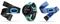Garmin Forerunner 735XT Midnight Blue & Frost Blue Running Watch Tri Bundle