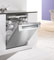 "Miele 24"" Classic Series Fully-Integrated Stainless Steel Full-Size Dishwasher"