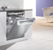 "Miele 24 "" Crystal Series Fully-Integrated Steel Dishwasher"