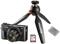 Canon PowerShot G7 X Mark II Black Digital Camera Video Creator Kit