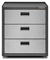 Gladiator Garageworks Hammered Granite Ready-To-Assemble 3-Drawer Modulator GearBox