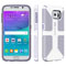 Speck CandyShell Grip White  And Heather Purple Samsung Galaxy S6 Case
