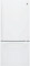 GE White Bottom Freezer Refrigerator