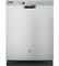 "GE 24"" Stainless Steel Built-In Dishwasher"