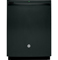 "GE 24"" Black Built-In Dishwasher"