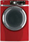 GE Ruby Red Electric Steam Dryer