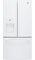 GE 23.8 Cu. Ft. White French-Door Bottom Freezer Refrigerator