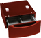 "GE 13"" Ruby Red Washer Or Dryer Pedestal"