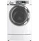 GE RightHeight White Front Load Washer