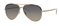 Gucci Gold Metal Bamboo Aviator Womens Sunglasses