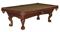Brunswick Glen Oaks 8 Ft. Chestnut And Sahara Billiard Table Package