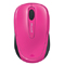 Microsoft Magenta Pink Wireless Mobile Mouse 3500
