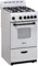 "Avanti 20"" White Freestanding Gas Range"