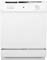 "GE 24"" White Built-In Dishwasher"