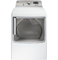 GE 7.8 Cu.Ft. White Front Load Gas Dryer