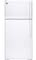 GE White 14.6 Cu. Ft. Top-Freezer Refrigerator