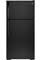 GE Black 14.6 Cu. Ft. Top-Freezer Refrigerator