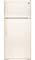 GE Bisque 15 Cu. Ft. Top-Freezer Refrigerator