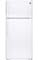 GE White 15 Cu. Ft. Top-Freezer Refrigerator