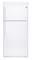 GE White 18.2 Cu. Ft. Top-Freezer Refrigerator