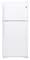 GE White 18.2 Cu.Ft. Top Freezer Refrigerator