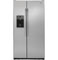 GE 21.9 Cu. Ft. Stainless Steel Counter Depth Side-By-Side Refrigerator