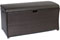Hanover Large Resin Outdoor Deck Box Storage
