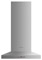 """Fisher & Paykel 24"""" Stainless Steel Pyramid Chimney Wall Hood"""