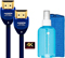 WireLogic Sapphire 2-Pack 6 Feet HDMI Cables With CleanScreen