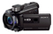 Sony Full HD 60p/24p Black Camcorder