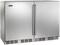 """Perlick 48"""" Signature Series Stainless Steel Solid Doors Indoor Wine Reserve"""