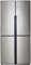 Haier Stainless Steel Quad Door Counter Depth Refrigerator
