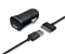 iLuv Black Micro Size USB Car Charger & Charge/Sync Cable