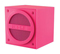 iHome Bluetooth Mini Pink Speaker Cube