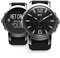 iFit Space Black Duo Mens Round Fitness Watch
