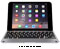 ClamCase White/Silver Pro Keyboard Case for iPad Mini