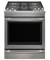 "Jenn-Air 30"" Stainless Steel Slide-In Dual-Fuel Range"