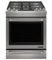 "Jenn-Air 30"" Pro Style Stainless Steel Slide-In Dual-Fuel Range"