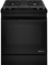 "Jenn-Air 30"" Black Dual Fuel Slide-In Downdraft Range"