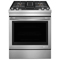 "Jenn-Air 30"" Stainless Steel Slide-In Dual-Fuel  Downdraft Range"