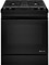 "Jenn-Air 30"" Black Dual-Fuel Slide-In Downdraft Range"