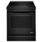 "Jenn-Air 30"" Black Slide-In Electric Range"