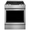 "Jenn-Air 30"" Stainless Steel Slide-In Electric Downdraft Range"