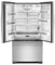 Jenn-Air Counter Depth Stainless Steel French Door Bottom Freezer Refrigerator