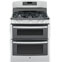 GE Free Standing Gas Double Oven Range